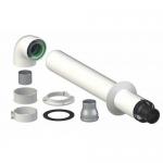 Дымоходы для закрытой камеры сгорания, d-60/100мм, L- 1м,