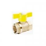 Кран шаровой газовый 11Б27П (1.6МПа)  ДУ-15 г/г