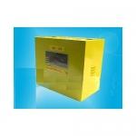Ящик для счетчика газа G-6 (250мм) разборный (300х250х200мм) ШС-2,0 металл, желтый