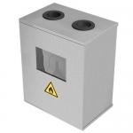 Ящик для счетчика газа G-6 (250мм) разборный (395х400х200мм) ШГС-6-1 серый